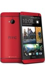 HTC One m7 Red